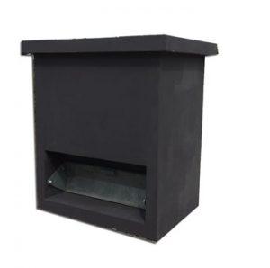 zoutbox zwart